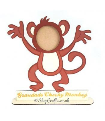 Cheeky Monkey Family Photo Frame