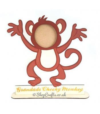 Cheeky Monkey Photo Frame