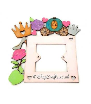 Princess themed shapes light switch surround