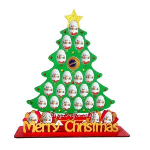 Christmas Base.Reusable Dinosaur 6mm Thick Kinder Egg Chocolate Orange