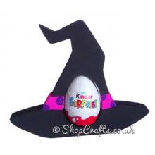 Witch Hat 18mm thick freestanding Chocolate Kinder Egg Holder *More designs available.