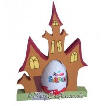 Haunted House 18mm thick freestanding Chocolate Kinder Egg Holder *More designs available.