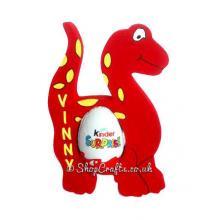 Dinosaur 18mm thick freestanding Kinder Egg Holder - More Designs Available