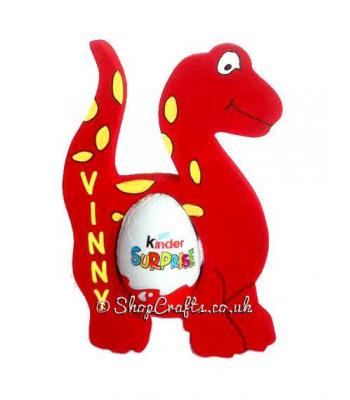 Dinosaur 18mm thick freestanding Kinder Egg Holder - More Designs Available