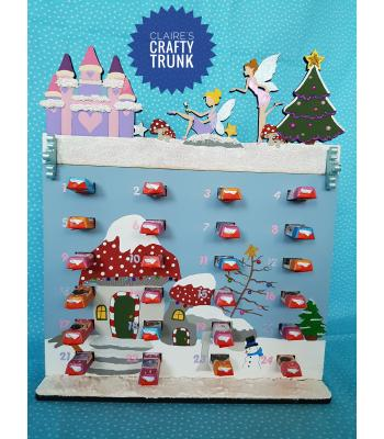 Exclusive Christmas in Fairyland Kinder Bar Advent calendar - More Designs and Options Available