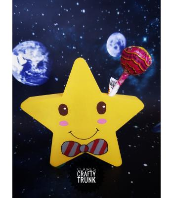 Freestanding Star Pupil Lollipop Holder - More Designs Available.
