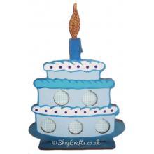 Birthday Cake £1 Coin Holder