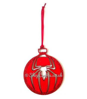 Web Master's Superhero Hanging Christmas Tree Bauble *More Designs Available