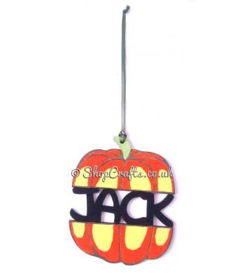 Personalised Pumpkin Tree Bauble * More Designs Available