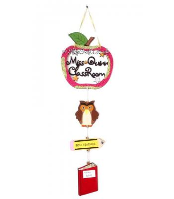 Hanging Personalised Teacher's Classroom School Dream Catcher