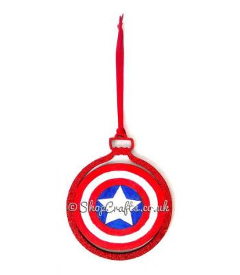The Warrior's Shield Christmas Tree Bauble * More Designs Available