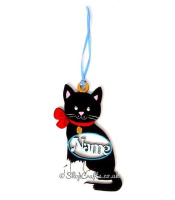 Purfect Personalised Cat Trinket Pet Bauble