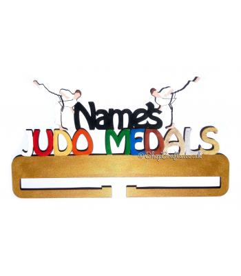 Judo Personalised Medal Holder *More Designs Available