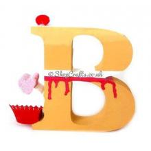 Cupcake 18mm thick Freestanding Lettering