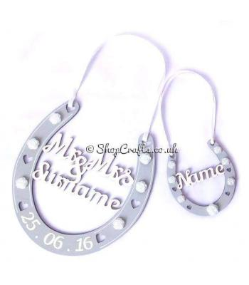 *SPECIAL OFFER * Bridal Party Personalised Horse Shoe Gift Set
