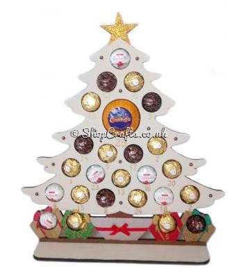Ferrero Rocher Terry's Orange Reusable Christmas Tree Advent Calendar