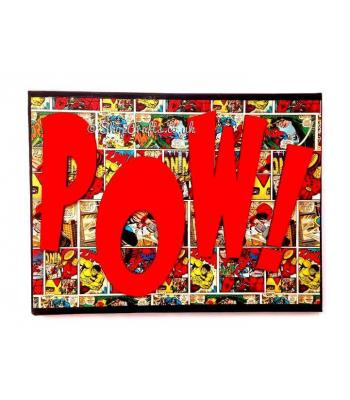 Comic Sound Effect Word Art Canvas