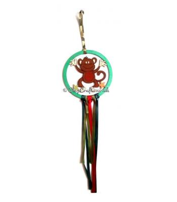 Mini Hanging Monkey Dream Catcher - More Designs Available
