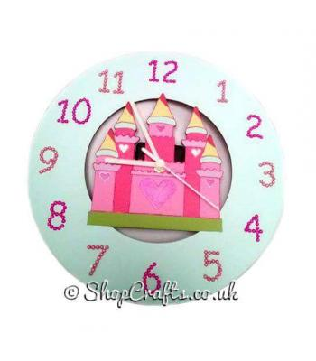Royal Castle Children's Wall Clock *More Designs Available
