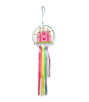Mini Hanging Royal Castle Dream Catcher