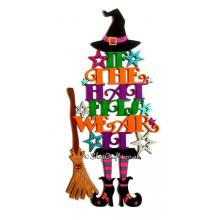 If the Hat Fits Wear It Hanging Reusable Halloween Decoration