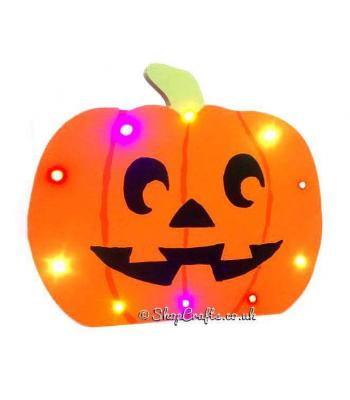 Freestanding 18mm thick Pumpkin with LED Lights * More Designs Available