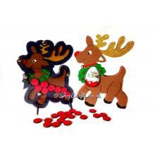 Reusable Christmas Reindeer Reward Drop box *SPECIAL OFFER*  Treat Bundle - More Designs Available