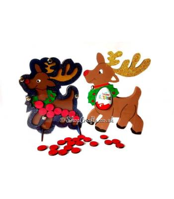Reusable Christmas Reindeer Reward Drop box *SPECIAL OFFER*  Treat Bundle - More Designs Available