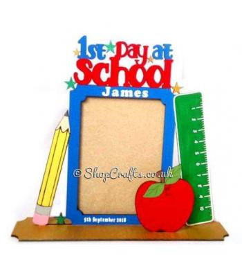 1st Day at School Photo Frame - More Options Available