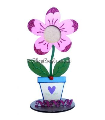 Nanny Flower Pot Photo Frame on stand - More Options Available