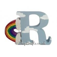 Rainbow 18mm thick freestanding Lettering * More Designs Available