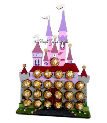 Magic Castle 6mm Thick Ferrero Rocher /Lindt Chocolate Gift Holder - More Designs Available