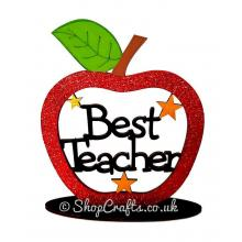 Best Teacher Apple On Stand - More Designs Available