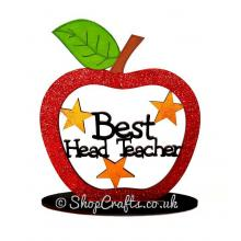 Best Head Teacher Apple On Stand - More Designs Available