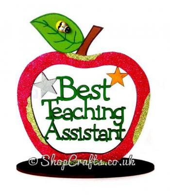 Best Teaching Assistant Apple On Stand - More Designs Available