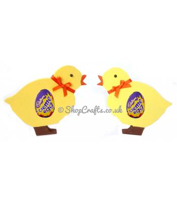 Spring Chicken18mm thick Freestanding Chocolate Egg Holder *More Designs Available