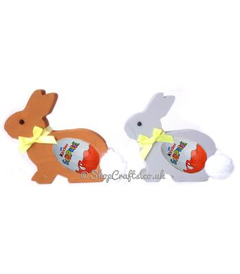 Traditional Bunny 18mm thick Freestanding Chocolate Egg Holder *More Designs Available