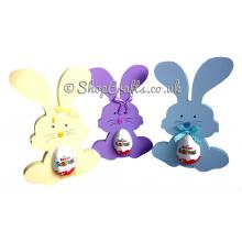 Fluffy Bunny 18mm thick Freestanding Chocolate Egg Holder
