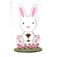 Personalised Easter Rabbit on a Stand * More Designs Available