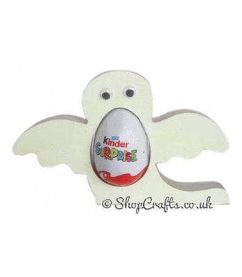 Ghost 18mm thick freestanding Chocolate Kinder Egg Holder *More designs available.