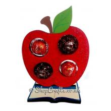 Apple 6mm Thick Ferrero Rocher or Lindt Holder on a BookStand - More Designs Available