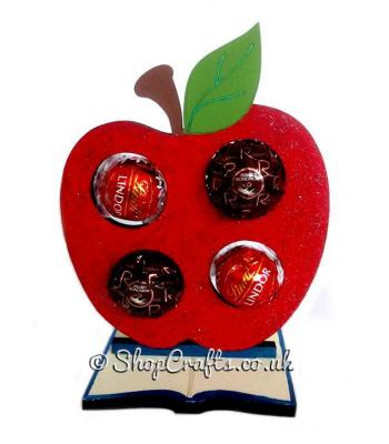 Apple 6mm Thick Ferrero Rocher or Lindt Holder on a Book Stand - More Designs Available