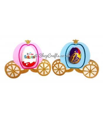 Royal Carriage 18mm thick freestanding Egg Holder - More Designs Available