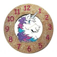 Unicorn Head Wall Clock
