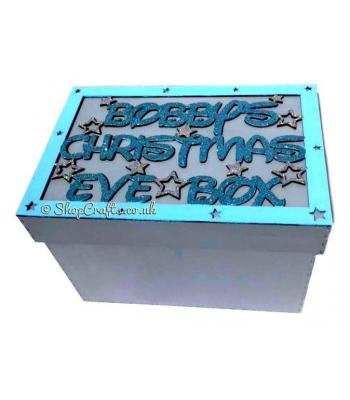 Personalised Christmas Eve box with stars