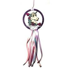 Unicorn head Mini Dream Catcher