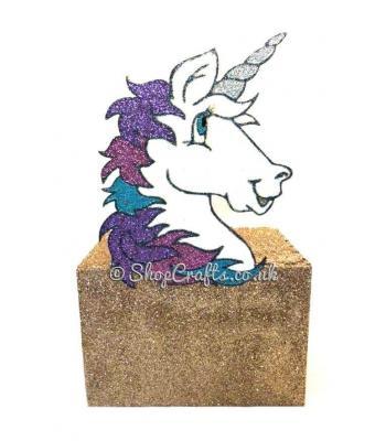 Unicorn head money box