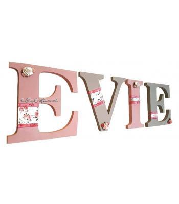 Large letter names (choose your theme & colours)