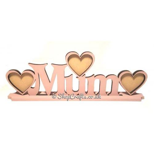 Heart frame with personalised family name