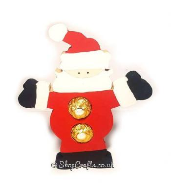 Santa chocolate holder